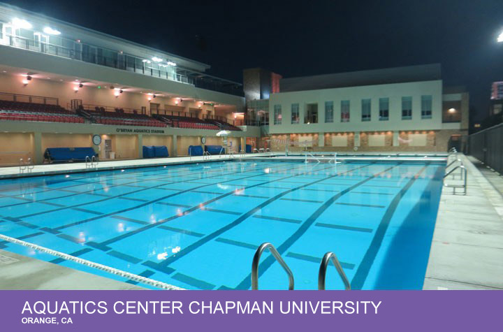 Aquatics Center Chapman University